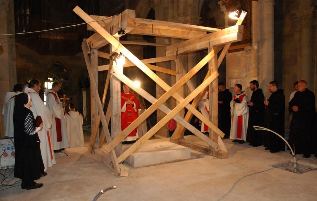 A Pannonhalmi Bazilika felújítása