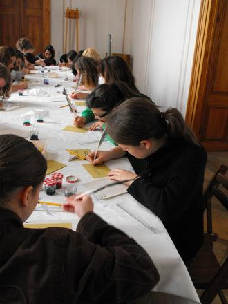"""""""Scriptorium"""" - foglalkozás középiskolásoknak"""