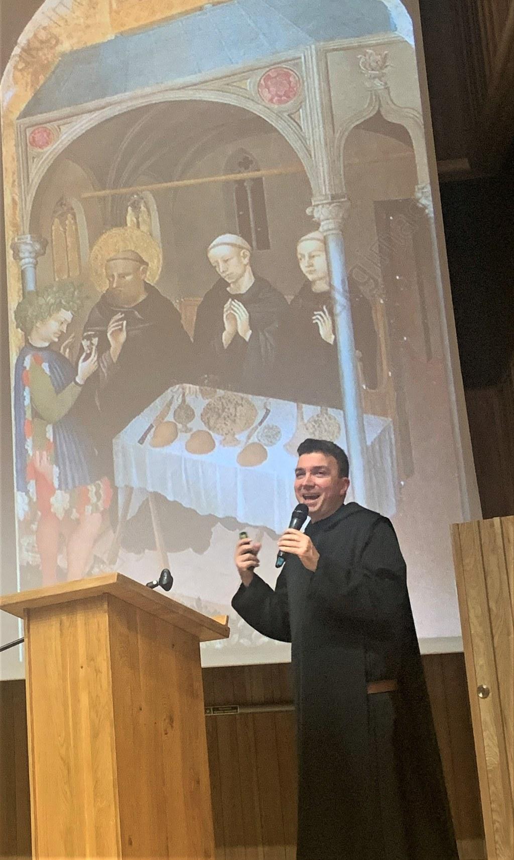 Juhász-Laczik Albin OSB, a Pannonhalmi Bencés Gimnázium igazgatója
